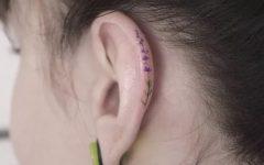 Tatuagem Na Helix da Orelha – Novidade Instagram