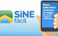 Aplicativo SINE Fácil – Vagas de Emprego
