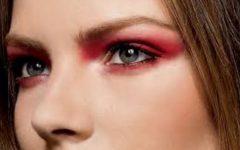 Esfumado Com Sombra Vermelha – Tendência de Make