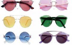 Óculos Com Lente Colorida – Tendência