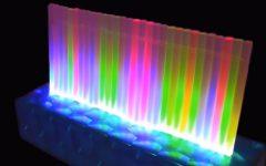 Lâmpadas de LED Com Barras De Silicone – Material e Vídeo