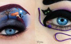 Maquiagem Para os Olhos Com Personagens – Como Fazer