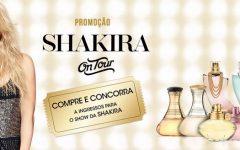 Promoção Shakira Fragrances On Tour – Como Participar