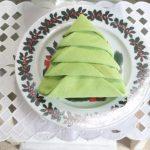 Árvore de Natal Com Guardanapo – Vídeo Como Fazer