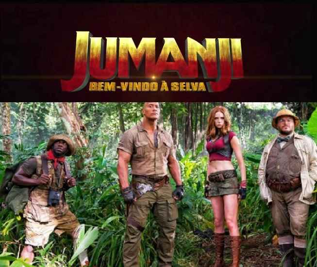 Bem Vindos Ao Inferno Elenco: Jumanji Bem-vindo à Selva