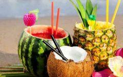 Drinks Servidos Dentro da Fruta – Receitas