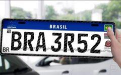 Placas Para Veículos Brasileiros – Novo Padrão