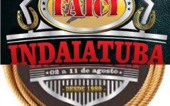 Feira Agropecuária, Industrial e Comercial de Indaiatuba- FAICI – Programação